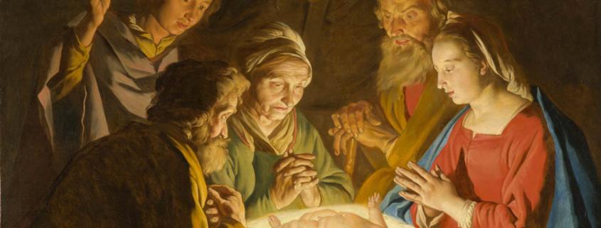 Die Anbetung der Hirten -Matthias Stom