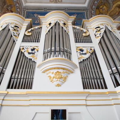 Kirche Marbach Bärmig-Orgel