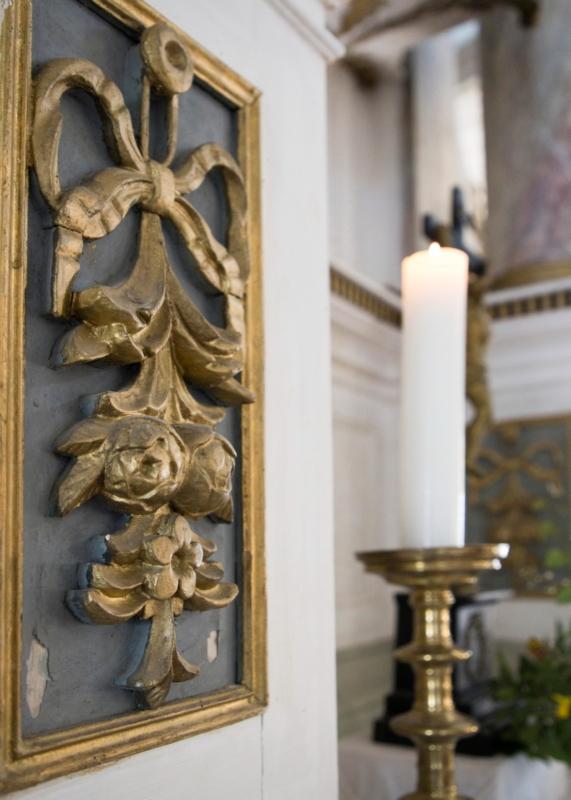 Kirche Marbach Altardetail