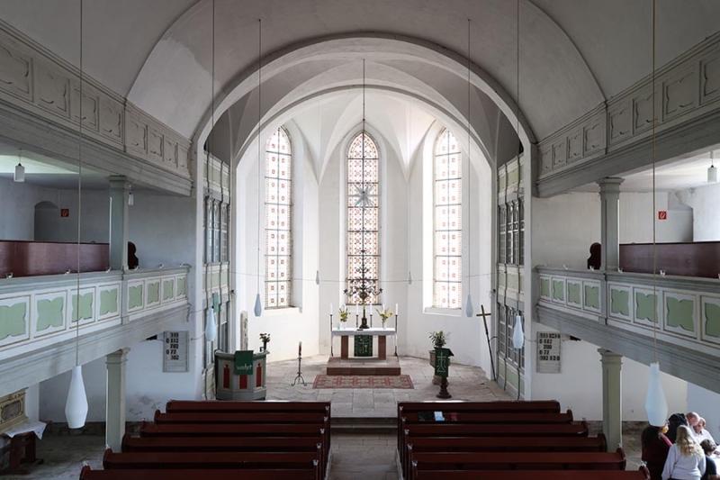 Kirche Etzdorf innen